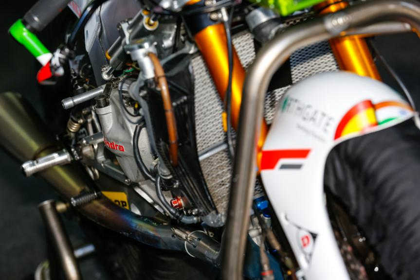 Test at the Motorland, Aragon for Moto2 and Moto3
