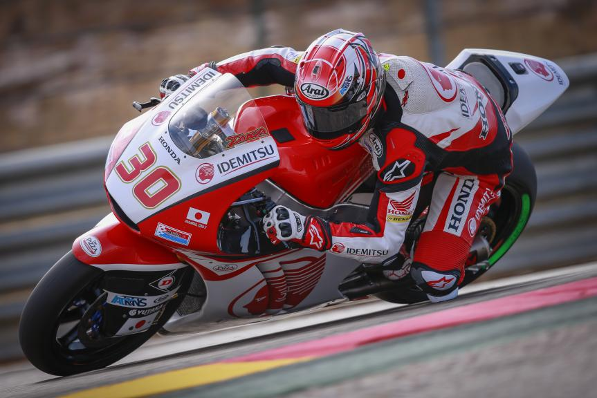 Takaaki Nakagami, Test at the Motorland, Aragon for Moto2 and Moto3