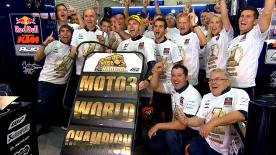 A look back at the 2016 Moto3™ World Champion's motorcycle racing career, from 2009 to winning the championship in Aragon in 2016.
