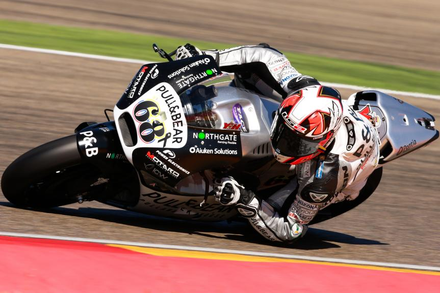 Yonny Hernandez, Pull&Bear Aspar Team, Gran Premio Movistar de Aragón
