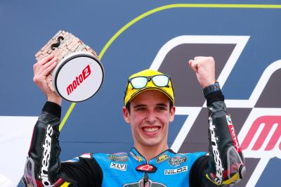 Alex Marquez: First Moto2™ podium