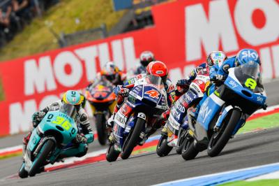 Moto3™ Rookie of the Year battle rolls on