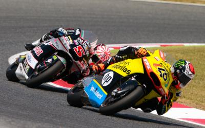 Moto2™ goes down to the wire: Rins vs Zarco (vs Lowes)