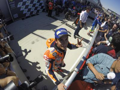 "The ""new and improved"" Marquez: fighting the demon within"