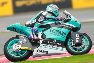 Aegerter e Kent, in Moto2™ con colori Leopard