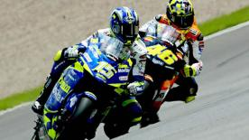 Relive the classic German Grand Prix at the Sachsenring Circuit in 2003.