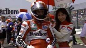 Wayne Rainey rivive il GP a Suzuka del 1993.