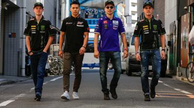 Nakagami porta il MotoGP™ alla scoperta di Tokyo