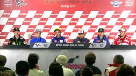Cosa è stato detto nella conferenza stampa che apre ufficialmente il GP del Giappone.