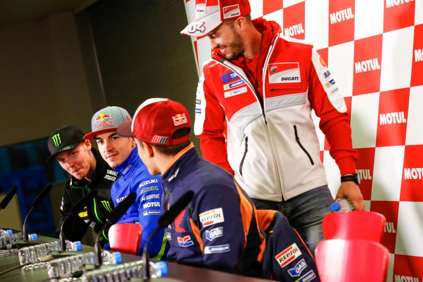 Press Conference Motul Grand Prix of Japan
