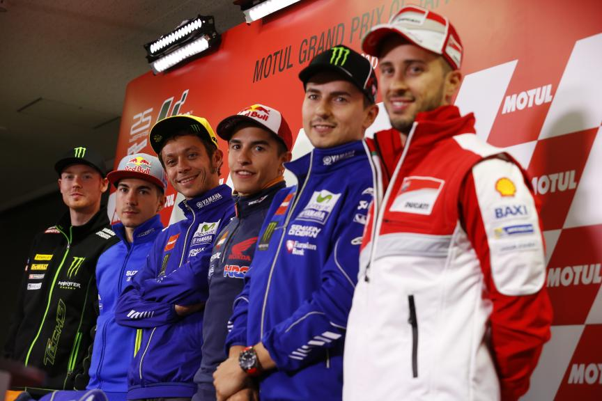 Press Conference Motul Grand Prix of Japan