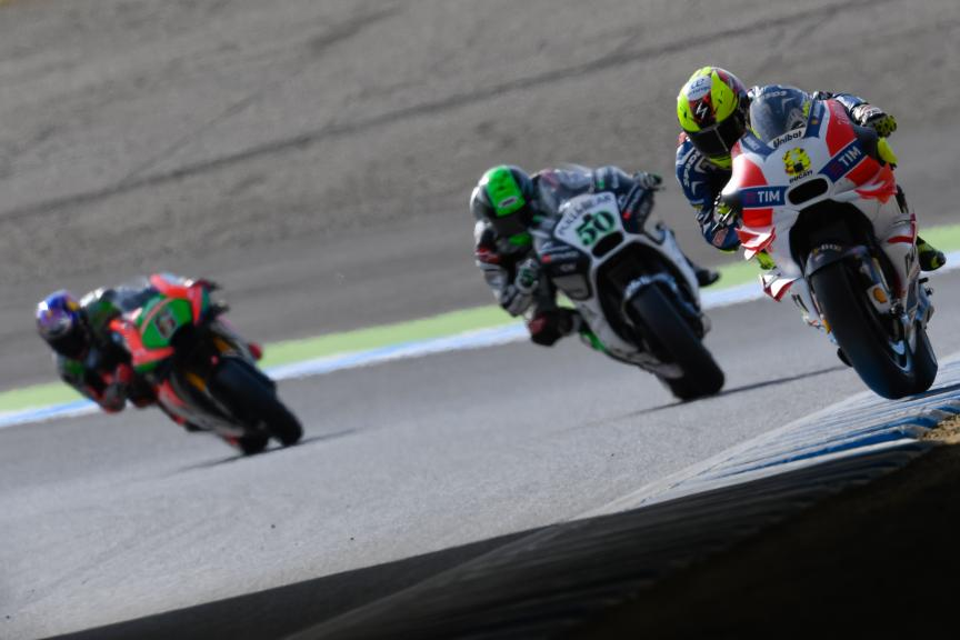 Hector Barbera, Eugene Laverty, Motul Grand Prix of Japan