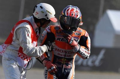 Sending speedy healing vibes to @26_danipedrosa // a right collarbone
