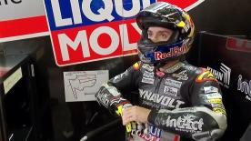 La prima sessione di prove libere per la Moto2™ a Motegi.