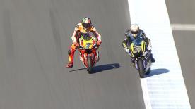 La seconda sessione di prove libere per la Moto2™ sulla pista nipponica.