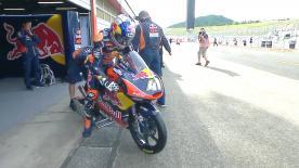 La prima sessione di prove libere per la Moto3™ a Motegi.