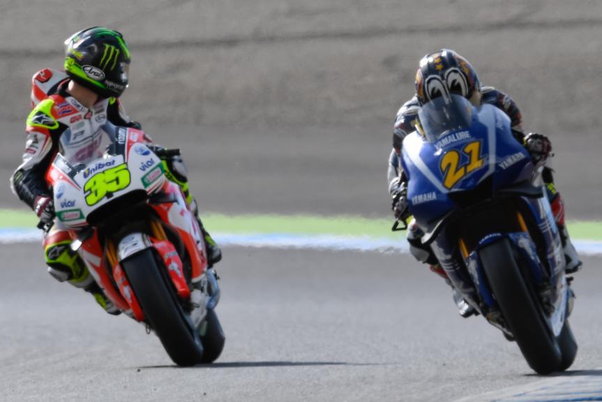 Cal Crutchlow, Katsuyuki Nakasuga, Motul Grand Prix of Japan
