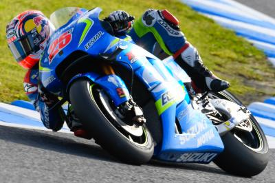 "Viñales: ""I feel confident with the front"""