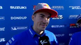 Al Twin Ring pilota di Figueres prova varie gomme in vista della gara e firma il terzo miglior tempo.