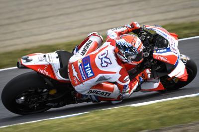 FP1 MotoGP™: Dovizioso ist Schnellster