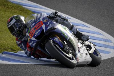 Lorenzo draws first at the Twin Ring Motegi