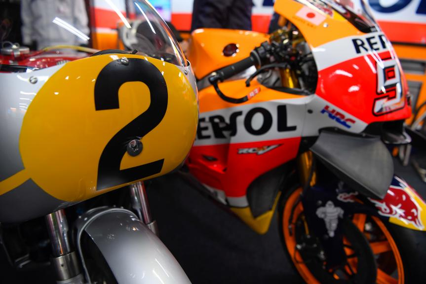 Honda Celebrates 50 Years Since Entering Premier Class World Grand Prix Racing with RC181