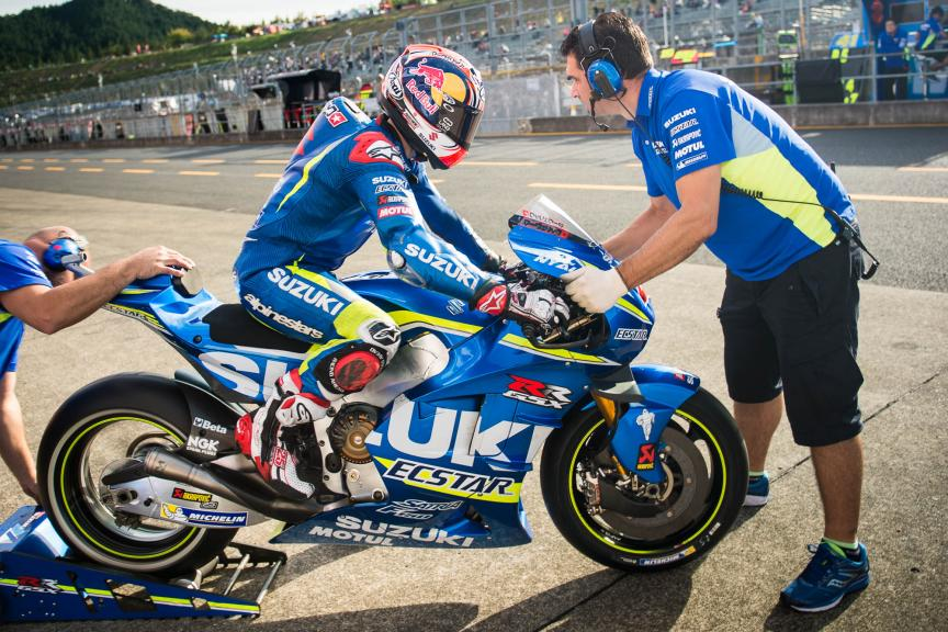Maverick Viñales, Team SUZUKI ECSTAR, Motul Grand Prix of Japan © 2016 Scott Jones, PhotoGP