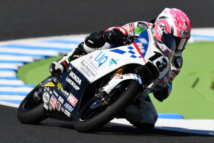 Shizuka Okazaki, Uq& Teluru Kohara RT, Motul Grand Prix of Japan