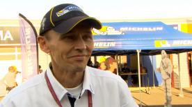 Nicolas Goubert, direttore del programma Michelin nella classe regina, commenta le prestazioni delle gomme nel sabato di qualifiche a Motegi.