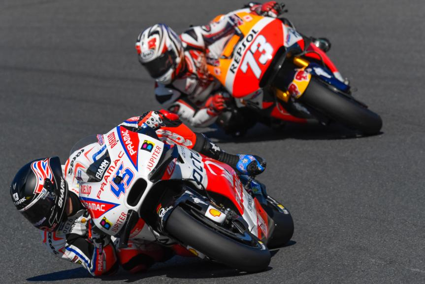 Scott Redding, Hiroshi Aoyama, Motul Grand Prix of Japan