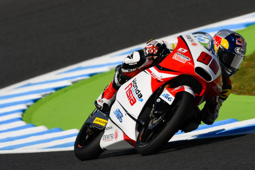 Khairul Idham Pawi, Honda Team Asia, Motul Grand Prix of Japan