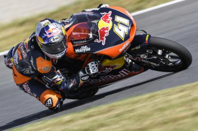 Binder bounces back to top FP3