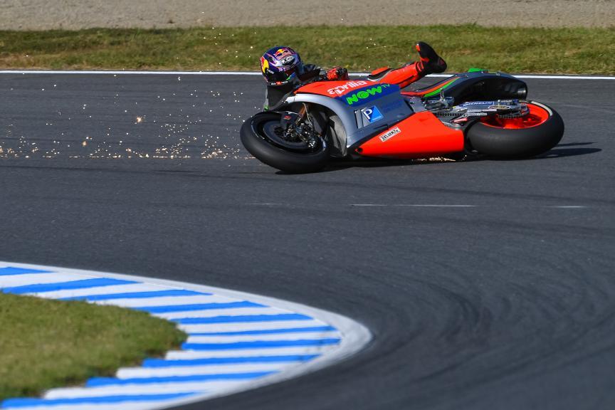 Stefan Bradl, Aprilia Racing Team Gresini, Motul Grand Prix of Japan