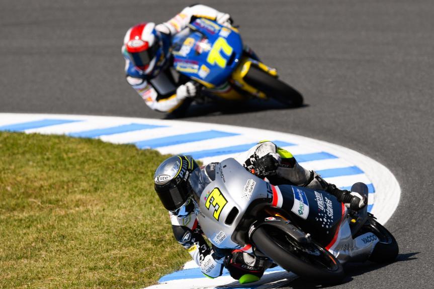 Fabio Spiranelli, CIP Unicom Starker and Lorenzo Petrarca, 3570 Team Italia, Motul Grand Prix of Japan
