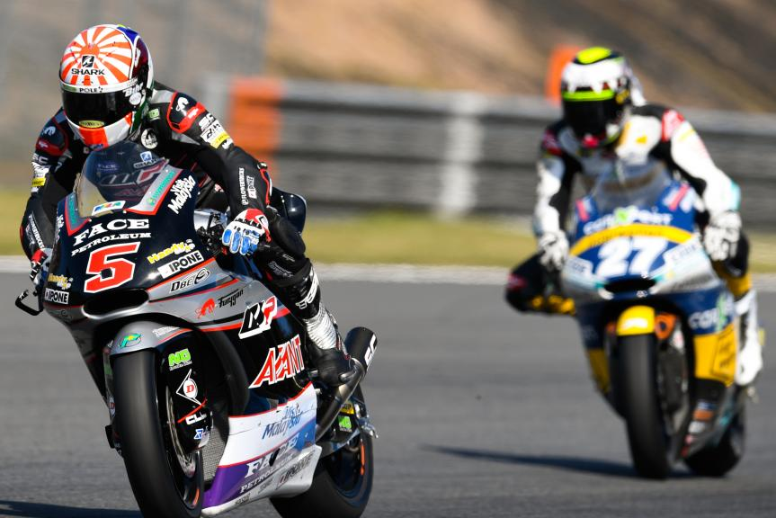 Johann Zarco, Ajo Motorsport and Iker Lecuona, CarXpert Interwetten, Motul Grand Prix of Japan