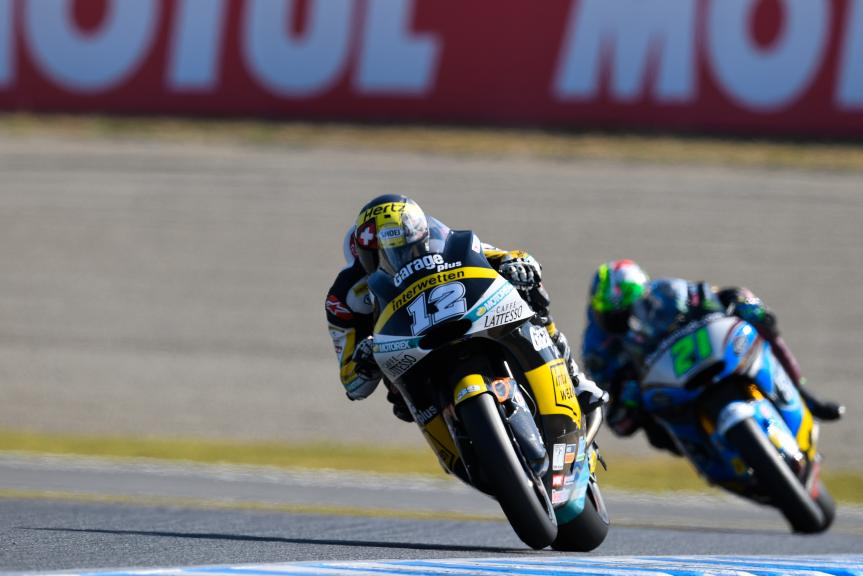 Thomas Luthi, Garage Plus Interwetten and Franco Morbidelli, Estrella Galicia 0,0 Marc VDS, Motul Grand Prix of Japan