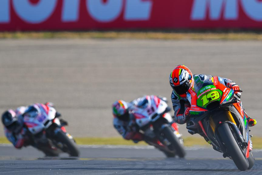 Alvaro Bautista, Aprilia Racing Team Gresini, Motul Grand Prix of Japan