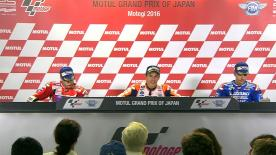 Los mejores pilotos del día de MotoGP™ hablan de sus resultados en carrera.