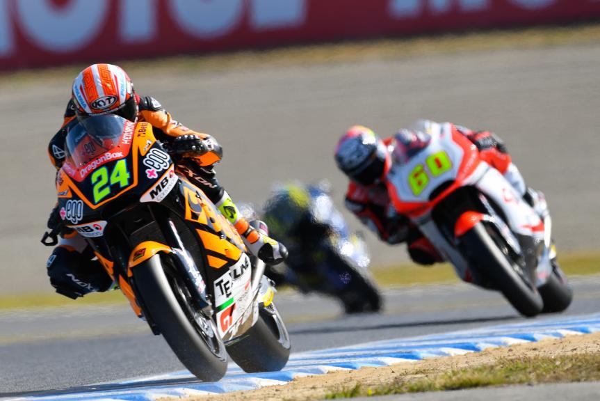 Simone Corsi, Speed Up Racing and Julian Simon, QMMF Racing Team, Motul Grand Prix of Japan