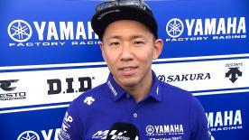 ワイルドカード参戦で11位に進出した中須賀克行が決勝レースを振り返る。