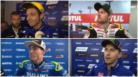 Los pilotos hablan de sus resultados en carrera. #JapaneseGP