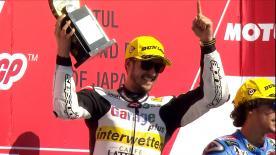 El suizo Thomas Luthi doblegaba al campeón en título Johann Zarco para hacerse con una bonita victoria.