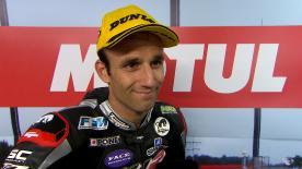 Tras un complicado comienzo de carrera, Johann Zarco se hacía finalmente con la segunda plaza en Motegi.