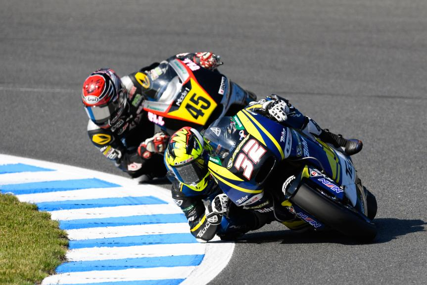 Isaac Viñales, Tech 3 Racing and Tetsuta Nagashima, Ajo Motorsport Academy, Motul Grand Prix of Japan