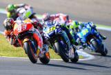 Valentino Rossi, Marc Marquez, Motul Grand Prix of Japan