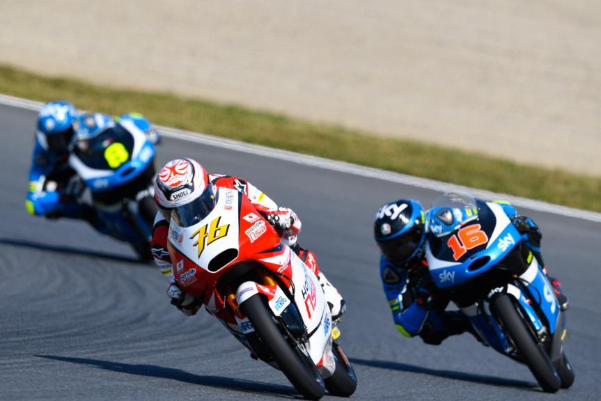 Hiroki Ono, Honda Team Asia and Andrea Migno, SKY Racing Team VR46, Motul Grand Prix of Japan