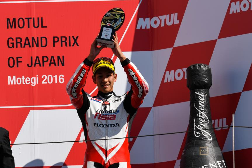 Hiroki Ono, Honda Team Asia, Motul Grand Prix of Japan