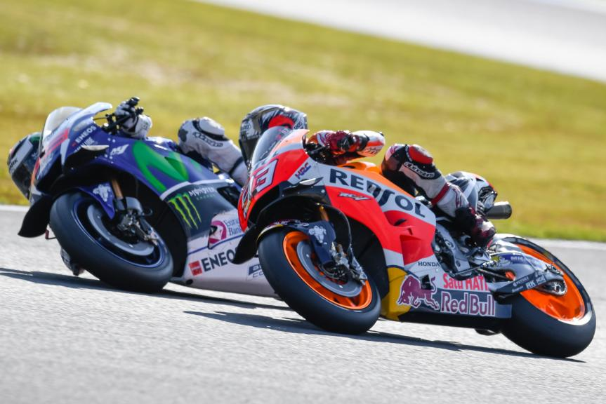 Marc Marquez, Jorge Lorenzo, Motul Grand Prix of Japan