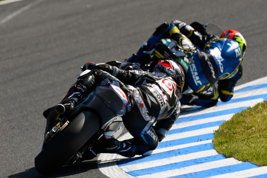 Tetsuta Nagashima, Ajo Motorsport Academy and Isaac Viñales, Tech 3 Racing, Motul Grand Prix of Japan