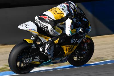 Luthi fastest in Warm Up